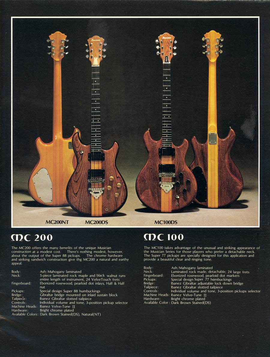 1978 Ibanez Musician MC200 | The Gear Page on