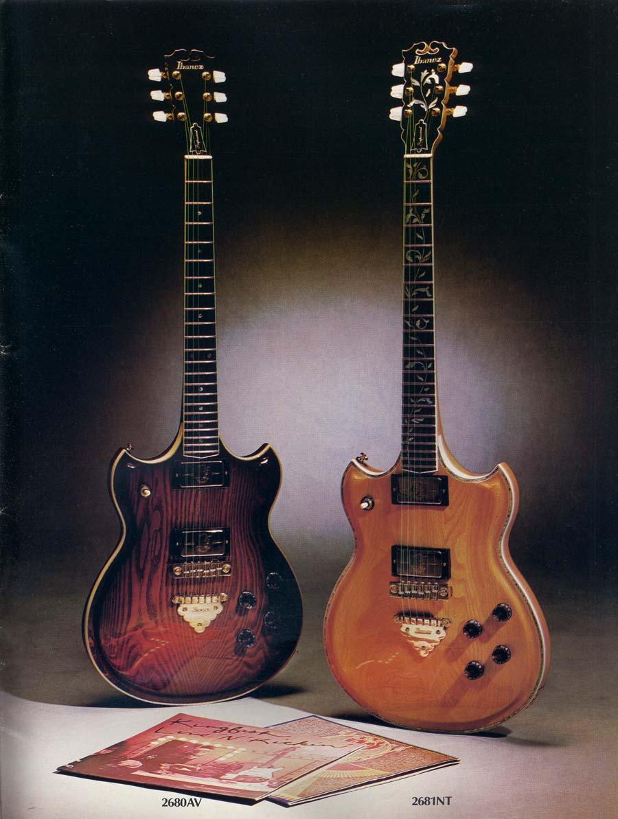 1978 Ibanez Electric Guitars Catalog