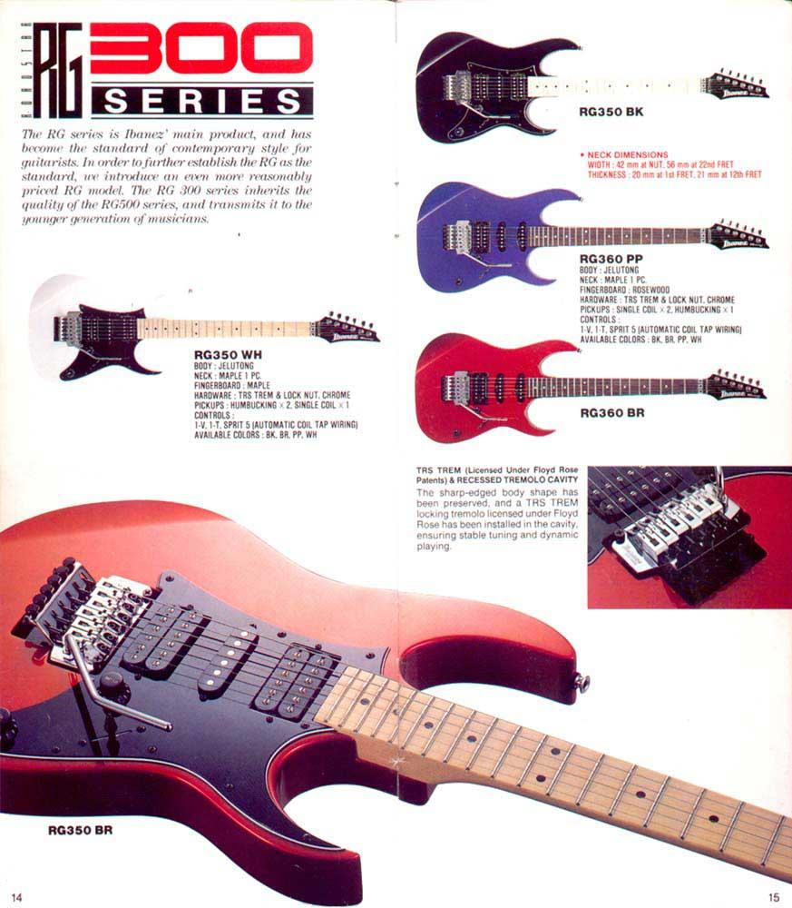 Terjual Ibanez Rg 350 Korea 1991 Rare